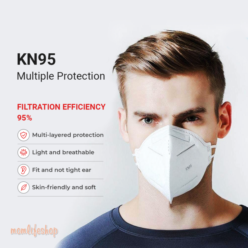 10 Pcs KN95 FACE COVER – NOT FOR MEDICAL USE Beauty and Wellness Series: Dustproof