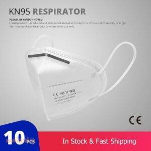 10 Pcs KN95 Face Masks Dust Respirator KN95 Mouth Masks Adaptable Against Pollution Breathable Mask Filter (not for medical use) Beauty and Wellness Series: Dustproof