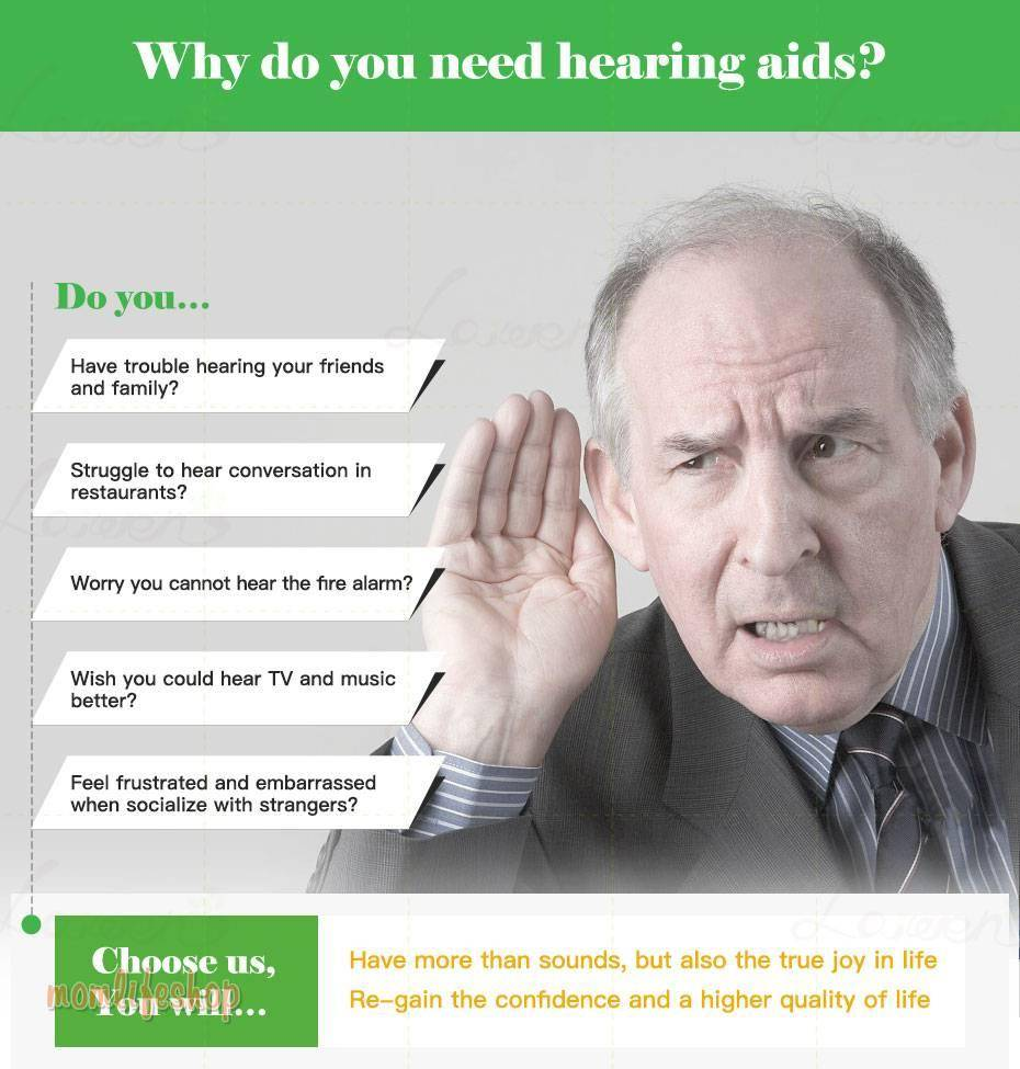 2020 best Bluetooth Rechargeable Mini Digital Hearing Aid Sound Amplifiers Wireless Ear Aids for Elderly Moderate to Severe Loss