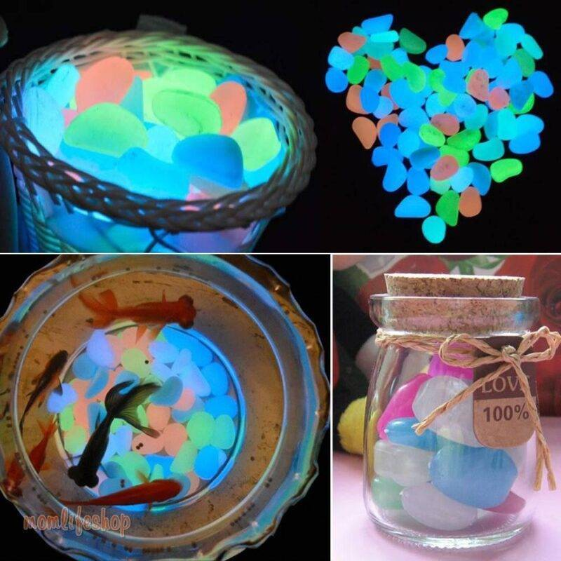 Garden Luminous Stones Home, Garden and Tools New and Interesting Finds 694e8d1f2ee056f98ee488: 100pcs|10pcs|50pcs