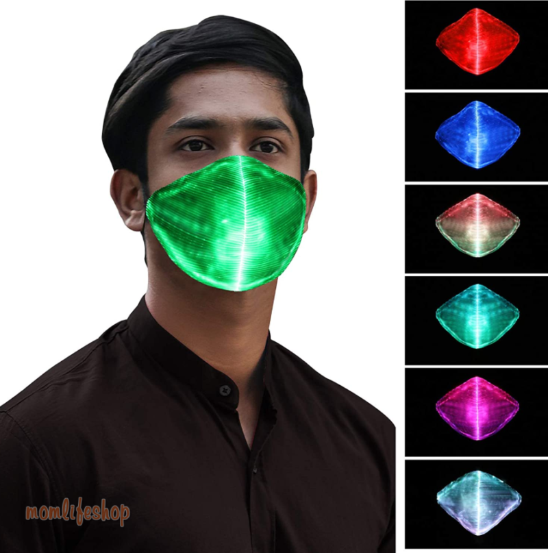 Led Flashing Mask Luminous Mask For Men Women New and Interesting Finds color: 1|2