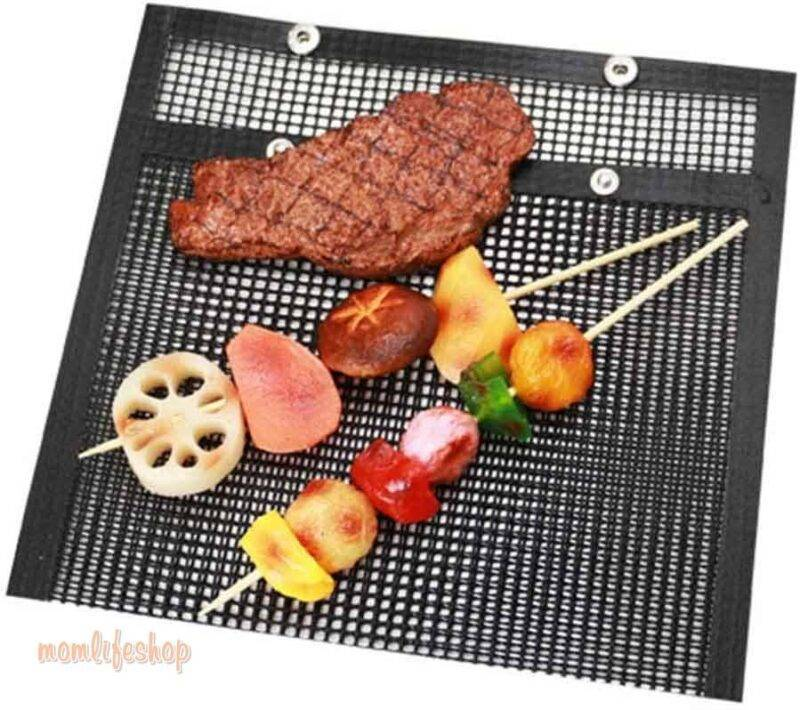 Non-Stick Mesh Grill Bag Home, Garden and Tools Kitchen and Household New and Interesting Finds a1fa27779242b4902f7ae3: 2PCS (Large & Small)|3PCS Large (8.6 x 10.6 in)|3PCS Small (5.5 x 8.6 in)|Single Large (8.6 x 10.6 in)|Single Small (5.5 x 8.6 in)