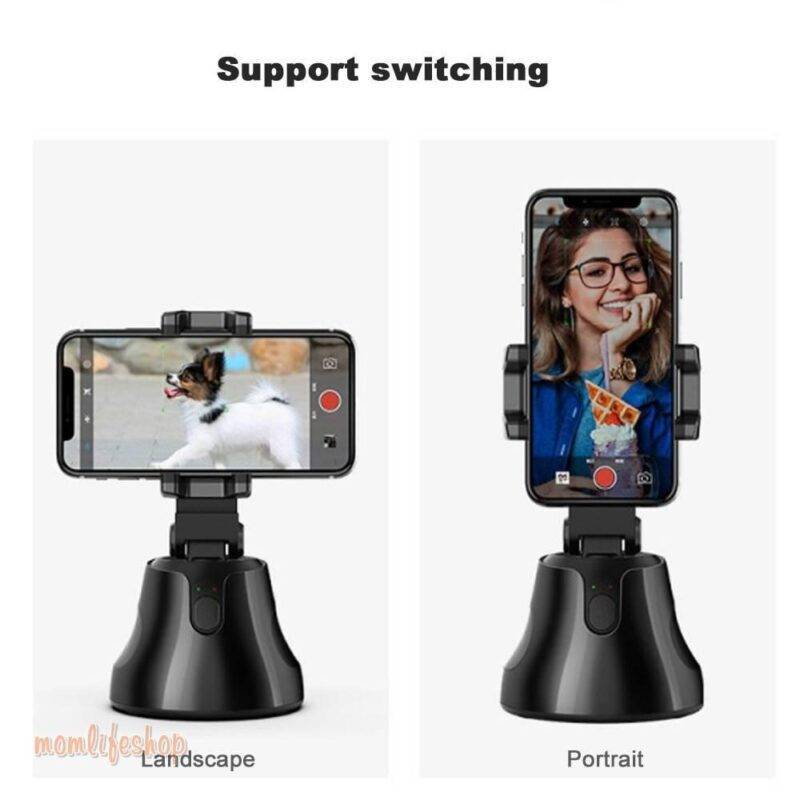 Portable All-in-one Auto Smart Shooting Selfie Stick , 360 Rotation Auto Face Tracking Object Tracking vlog Camera Phone Holder Tech and Electronics 1ef722433d607dd9d2b8b7: CHINA|Russian Federation|United States