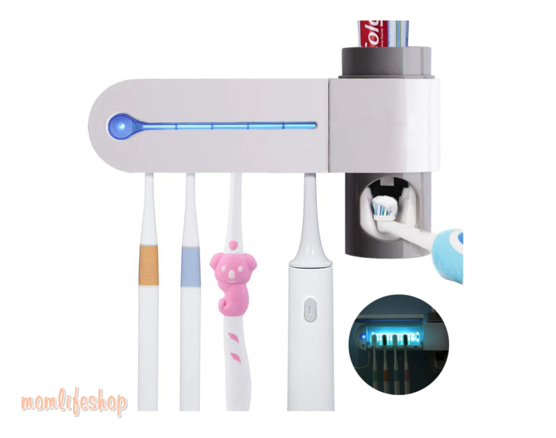 Toothbrush Ultra Violet Sterilizer New and Interesting Finds color: American standard|European standard