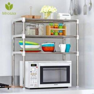 2-Tier/3-Tier Microwave Shelf Rack Kitchen Shelf Spice Organizer Kitchen Storage Rack Bathroom Organizer Shelf Book Shoes Shelve Kitchen and Household 1ef722433d607dd9d2b8b7: Australia|China|Czech Republic|France|Russian Federation|Spain|United States