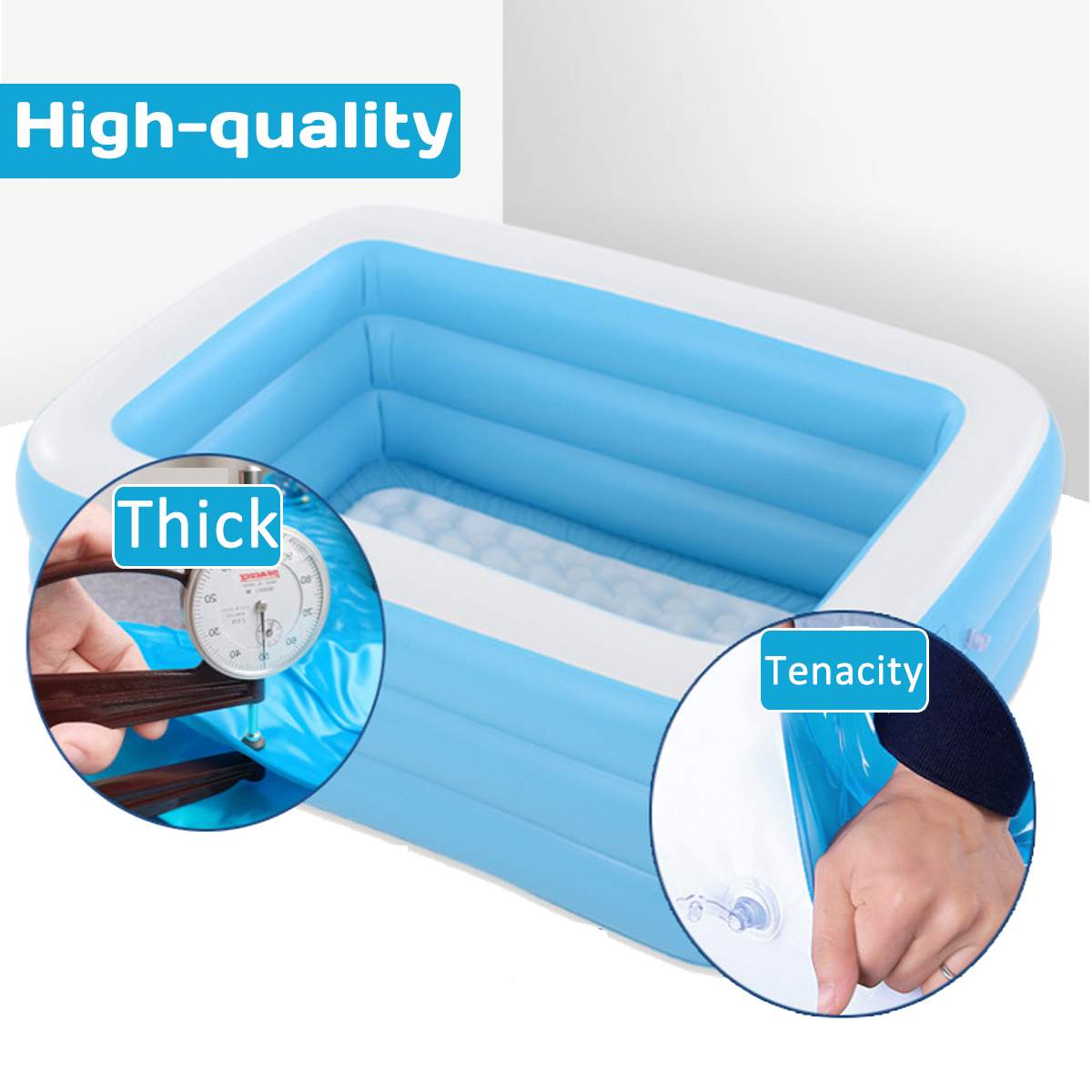 Adults and Kids Inflatable Swimming Pool