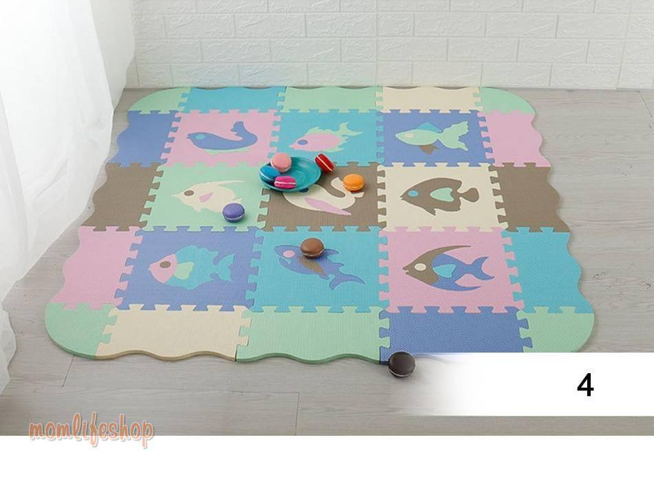 25Pcs Kids Toys EVA Children's mat Foam Carpets Soft Floor Mat Puzzle Baby Play Mat Floor Developing Crawling Rugs With Fence