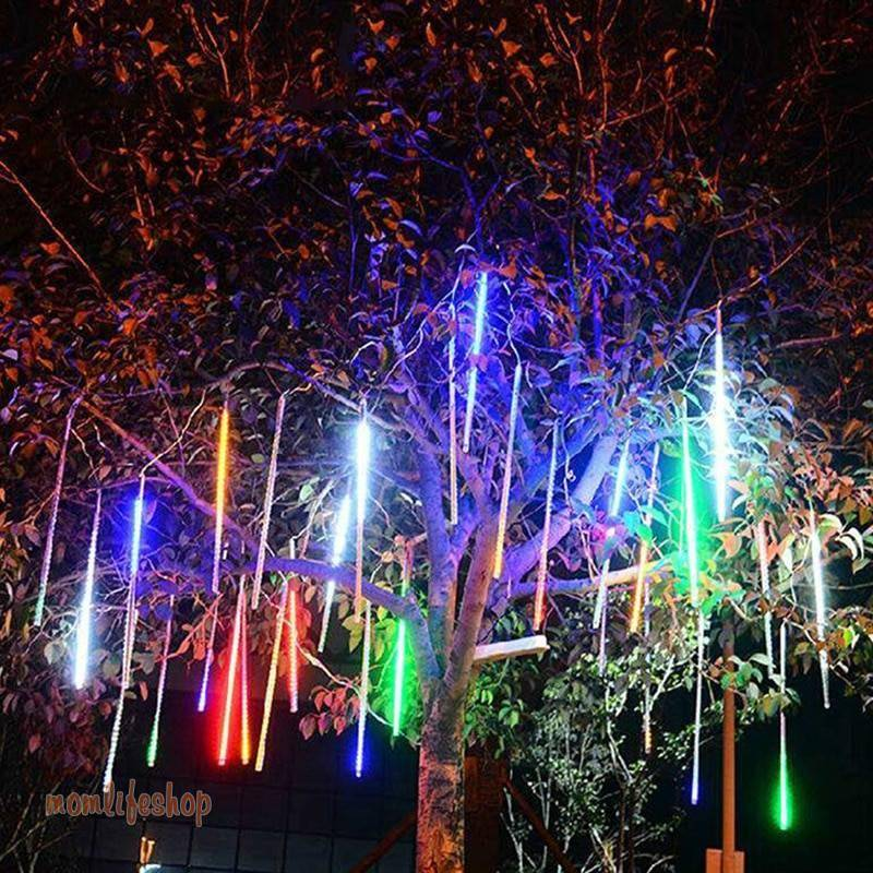 8 Tubes Led Fairy Lights Christmas String Lights Street Garland Outdoor Festoon Curtain Halloween Decoration Meteor Shower Light Tech and Electronics 061330ff83c078d1804901: Blue|changeable|White|Yellow