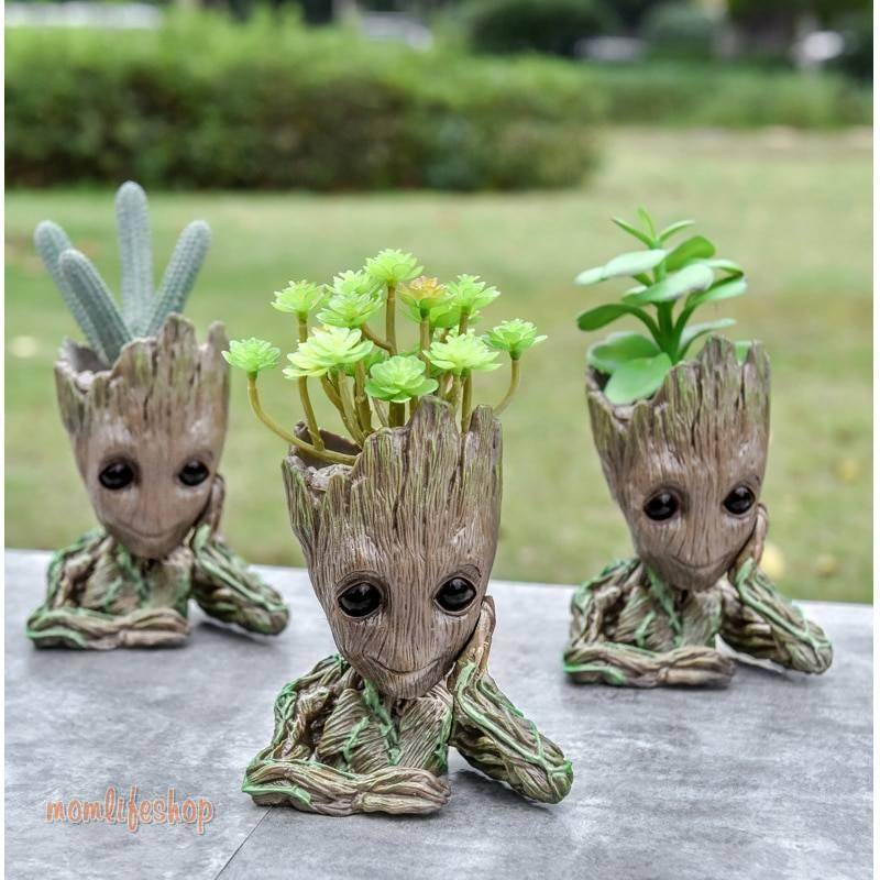Baby Groot Flowerpot plant pot stand pots for flowers Groot pan holder Home Decoration Home, Garden and Tools color: 1|2|3|4