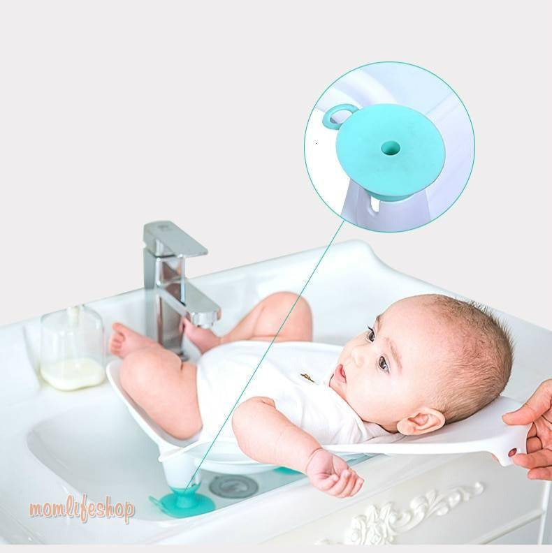 Best Portable Infant Baby Washing Ass Artifact Baby Washing Fart Basin Newborn Washing PP Tub Supplies Baby Bathtub Baby Care