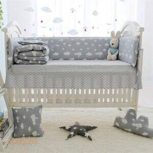 Cloud Printed Bedding Set Toys, Kids and Baby 5d5b78699e57104f2fa03b: 10 pcs|4 pcs|5 pcs|6 pcs A|8 pcs|9 pcs