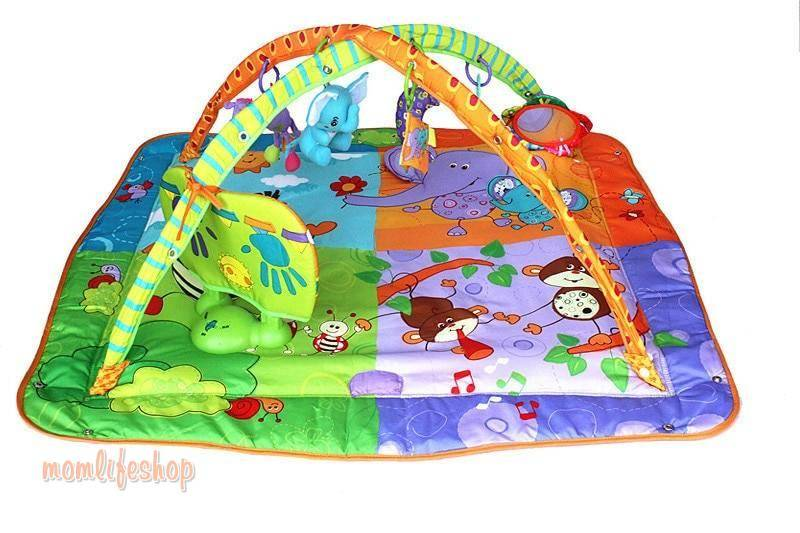 Colorful Plapen with Toys for Children color: Multicolor