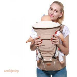 Ergonomic Baby's Carrier Backpack Toys, Kids and Baby color: Blue|Khaki|Red|Violet
