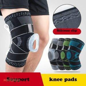Knee Brace Compression Sleeve Non-Slip Running Hiking Soccer Basketball Meniscus Tear Arthritis Single Wrap Kneepads Knee Pads Beauty and Wellness color: 1pcs A black|1pcs A blue|1pcs A gray|1pcs A green|1pcs A red|1pcs B black|1pcs B blue|1pcs B gray|1pcs B green|1pcs B red