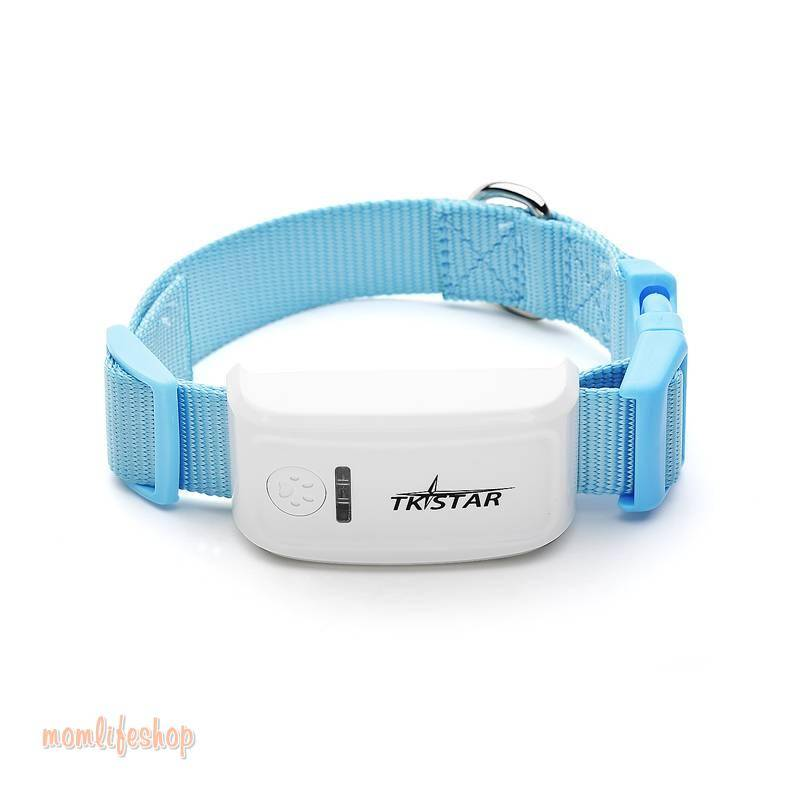 Mini GPS Tracker Collar For Pets Pet Supplies color: Black|Green|Orange|Red|Sky Blue|Yellow
