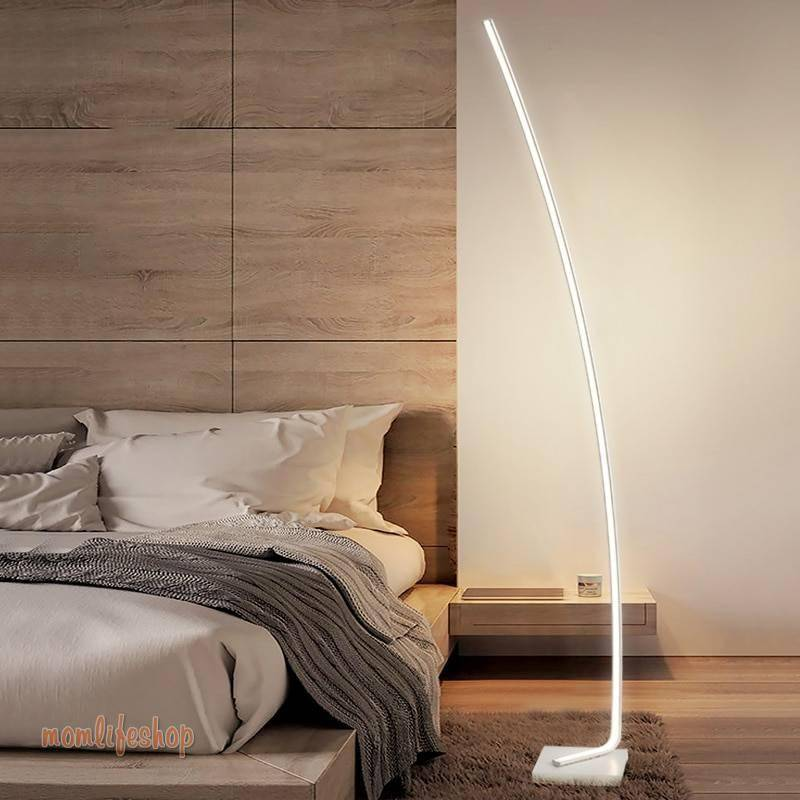 Modern LED Floor Lamps Living Room LED Floor lights Standing Family Rooms Bedroom Offices Dimmable Lighting stand lamp luminaria Tech and Electronics 8ecdde6db90a376d7ab2a4: Black 30cmx160cm|Gold 30cmx160cm|White 30cmx160cm