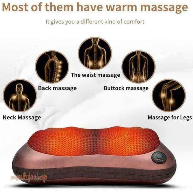 Pillow Massager Beauty and Wellness a1fa27779242b4902f7ae3: 6-2 Black Panel
