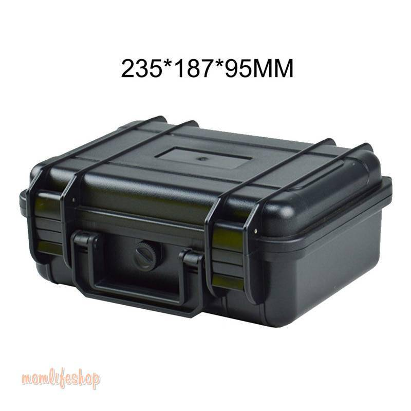 Shockproof Camera Safety Box ABS Sealed Waterproof Hard Boxes Equipment Case with Foam Vehicle Toolbox Impact Resistant Suitcase