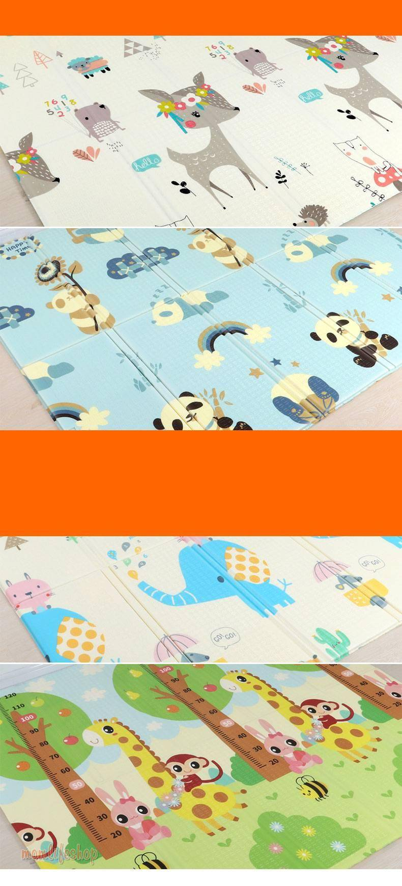 Thick Foldable Play Mat