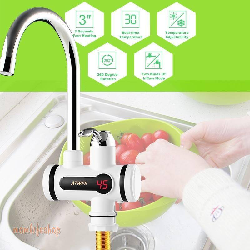 Water Heater Faucet Home, Garden and Tools a1fa27779242b4902f7ae3: Digital 22.5 cm / 8.86 inch Digital 32.5 cm / 12.80 inch Lateral 31 cm / 12.20 inch Lateral 40 cm / 15.75 inch