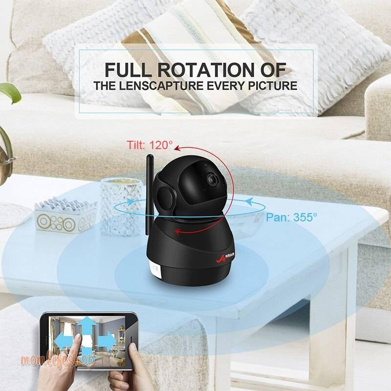 Wi-Fi Camera Two-Way Audio Baby Monitor Toys, Kids and Baby 81fc5b885e3ea8cd72da7b: Standard|With 32GB SD Card|With 64GB SD Card