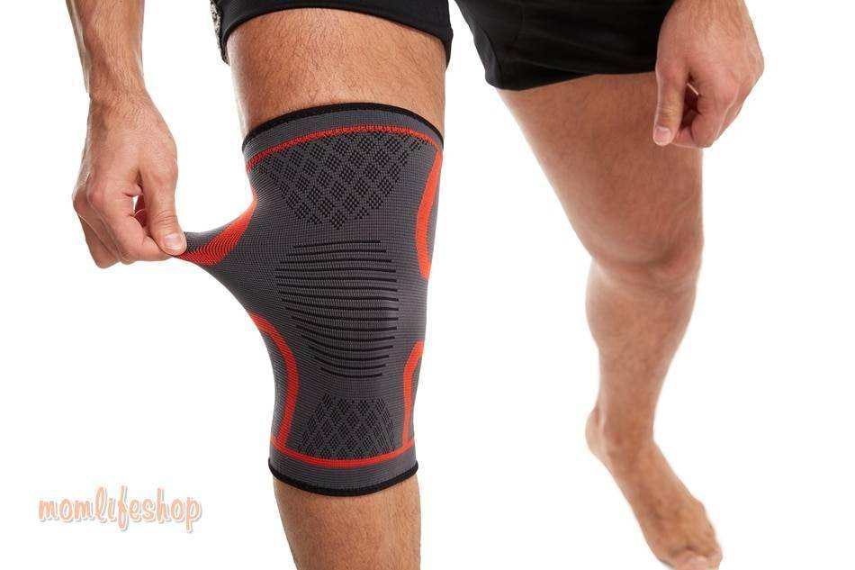 WorthWhil 1 PC Elastic Knee Pads Nylon Sports Fitness Kneepad Fitness Gear Patella Brace Running Basketball Volleyball Support