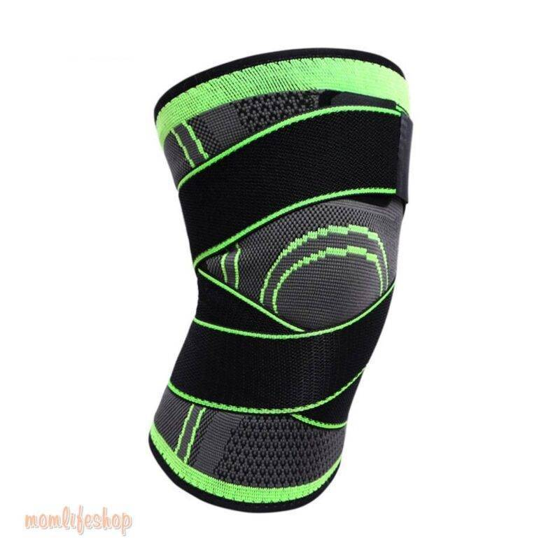 Bandage Knee Support Beauty and Wellness color: Black|Black with grey|Blue|Green|Orange|Pink|Red