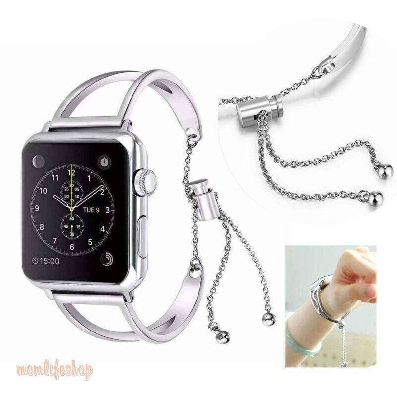 Women's Hollow Bracelet Band for Apple Watch 1ef722433d607dd9d2b8b7: China