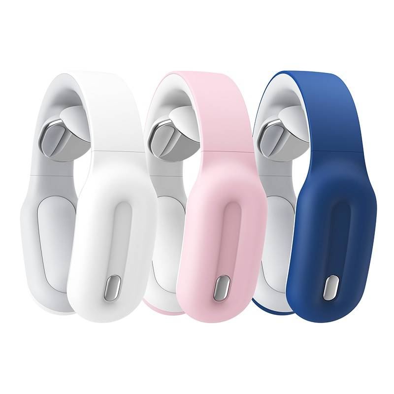 Intelligent Neck Massager Beauty and Wellness color: Blue|Pink
