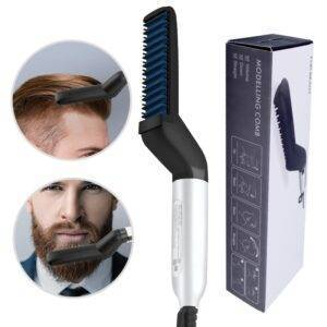 Multifunctional Hair Styler Brush Beauty and Wellness beard brush straightener: hair straightener brush comb